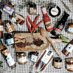 Cook with the flavours of Byron Bay, by gifting this hamper which includes; Award winning pickles and chutneys, rustic mustard, harissa paste, green curry, Rogan Josh curry, spicey dukkah, macadamia oil, peanut satay, flavoursome hot sauce, Davidson's plum sweet chilli, chipotle, BBQ rub, indigenous flavour infused vinegar and spice paste.